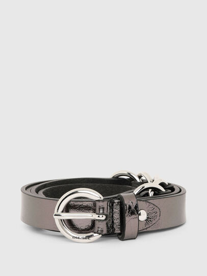 Diesel - B-OLIMP, Grey/Black - Belts - Image 1