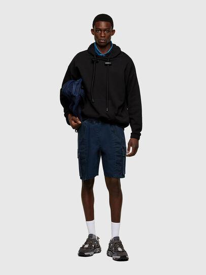 Diesel - S-BALIRIB, Black - Sweatshirts - Image 6