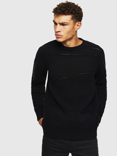 Diesel - K-PATHY, Black - Sweaters - Image 1