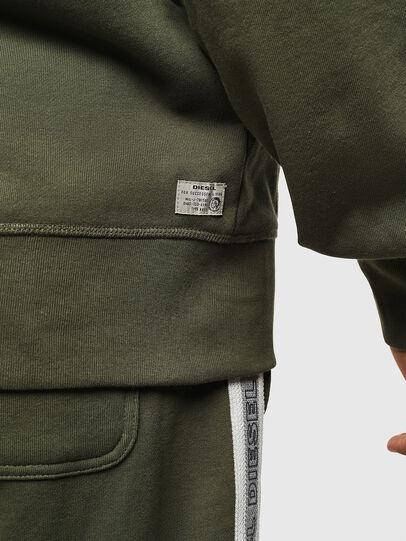 Diesel - UMLT-BRANDON-Z, Green - Sweatshirts - Image 5