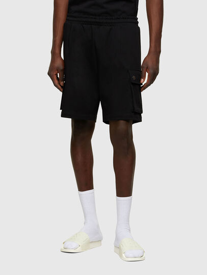 Diesel - P-PRONE, Black - Shorts - Image 1