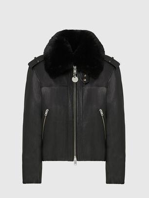 L-LIV, Black - Leather jackets