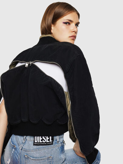 Diesel - W-LESKY, Black - Winter Jackets - Image 4