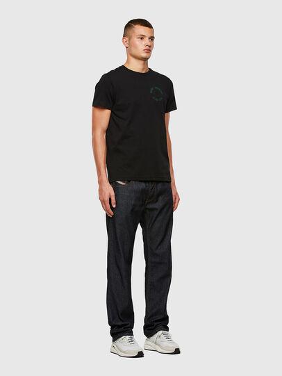 Diesel - Larkee Straight Jeans 009HF, Dark Blue - Jeans - Image 5