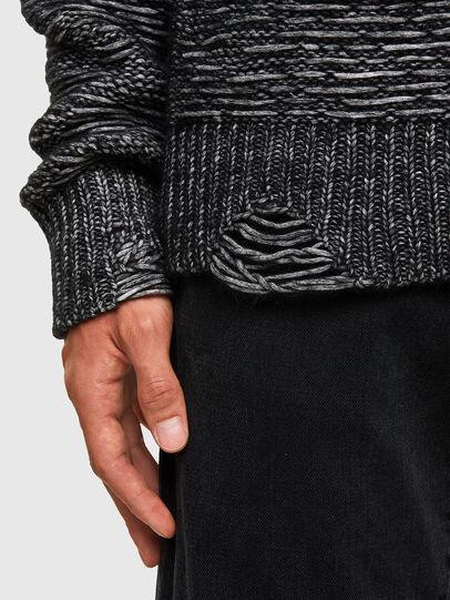 Diesel - K-JOSH, Black - Sweaters - Image 5