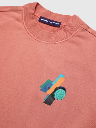 Diesel - PR-SW02, Pink - Sweatshirts - Image 2