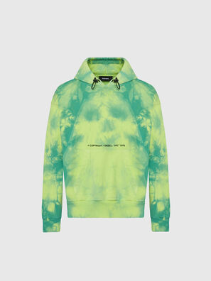 S-ALBYEL-X4, Green/Yellow - Sweatshirts