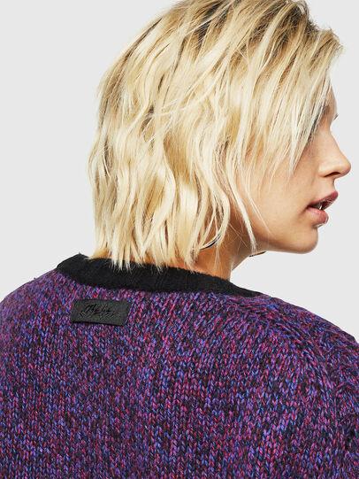 Diesel - M-TARTANN, Violet - Sweaters - Image 5