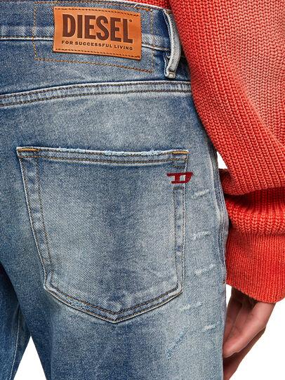 Diesel - D-Strukt Slim Jeans 009MW, Medium Blue - Jeans - Image 3