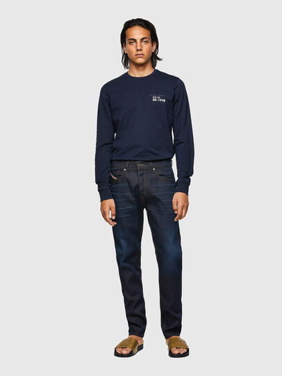 Diesel - D-Fining Tapered Jeans 09A45, Dark Blue - Jeans - Image 5