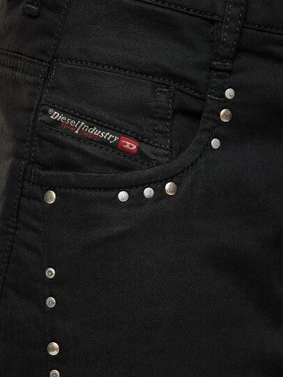 Diesel - Fayza JoggJeans® 069NC, Negro/Gris oscuro - Vaqueros - Image 3