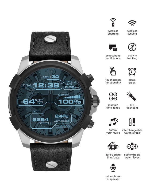 DT2001, Black - Smartwatches