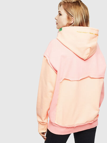 Diesel - S-CRAZY, Pink - Sweatshirts - Image 4