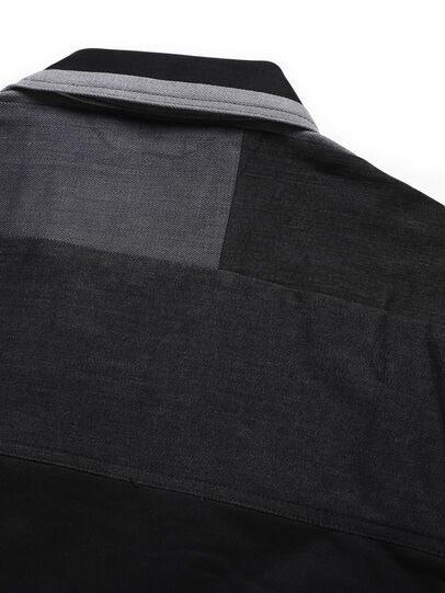 Diesel - D-BNHILL-S, Black - Sweatshirts - Image 5