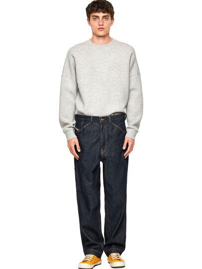Diesel - D-Franky Straight Jeans 009HP, Dark Blue - Jeans - Image 5