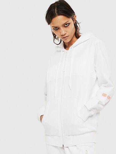 Diesel - S-DIEX, White - Sweatshirts - Image 2