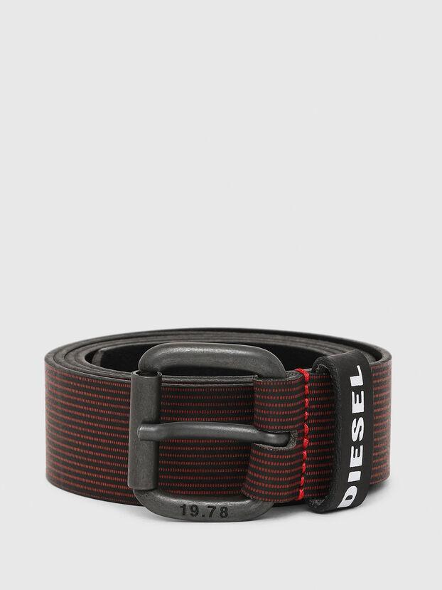 B-CAVA, Black/Red - Belts
