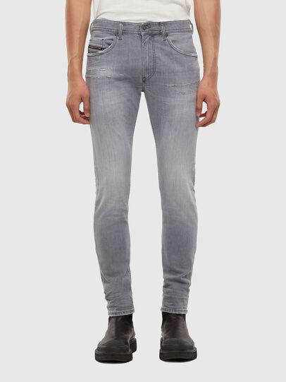 Diesel - Thommer Slim Jeans 009DC, Light Grey - Jeans - Image 1