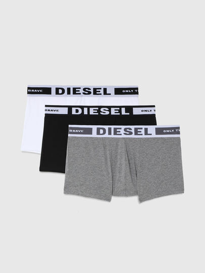Diesel - UMBX-KORYTHREEPACK, Negro/Gris - Boxers - Image 1