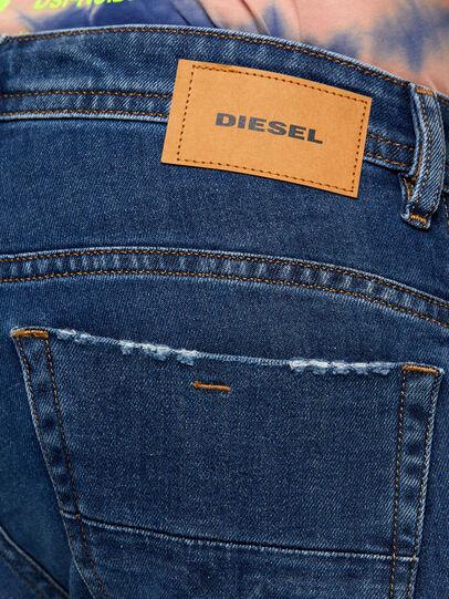 Diesel - Thommer Slim Jeans 009DE, Dark Blue - Jeans - Image 4