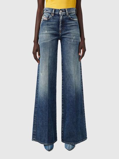 Diesel - D-Akemi Bootcut Jeans 09B17, Dark Blue - Jeans - Image 1