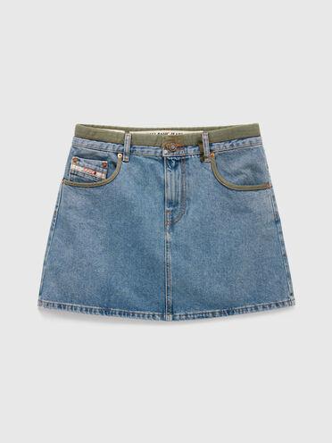 DieselXDiesel mini skirt in denim