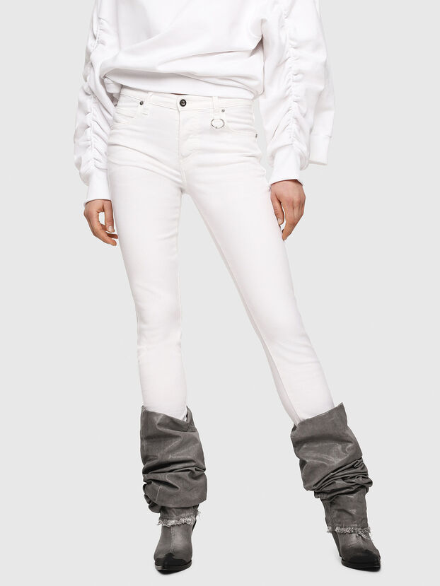 Babhila 086AS, White - Jeans