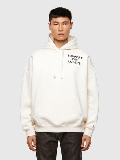 Diesel - S-UMMERHO, White - Sweatshirts - Image 1