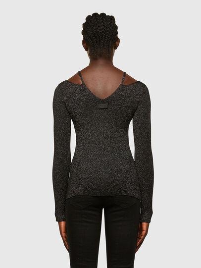 Diesel - M-AMBER, Black - Sweaters - Image 2