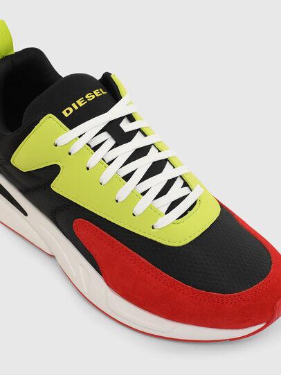 Diesel - S-SERENDIPITY LOW CU, Black/Red - Sneakers - Image 4