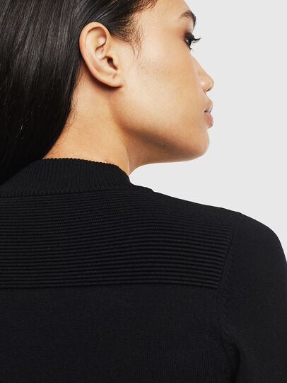 Diesel - M-LANAE, Black - Sweaters - Image 5