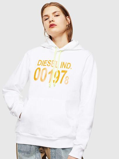 Diesel - S-GIRK-HOOD, White - Sweatshirts - Image 2