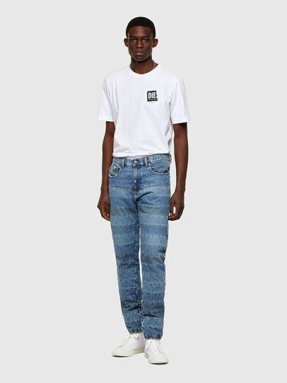 Diesel - D-Strukt Slim Jeans 009UE, Light Blue - Jeans - Image 5