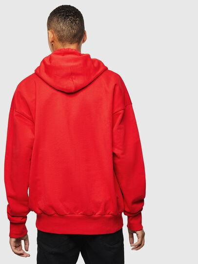Diesel - S-ALBY-YA, Red - Sweatshirts - Image 3