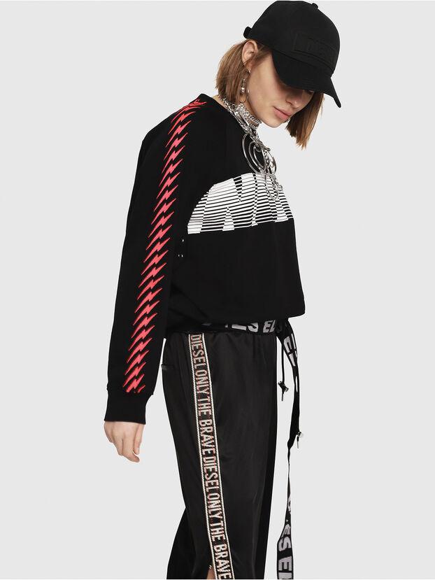 F-ROXXY-D, Black - Sweatshirts