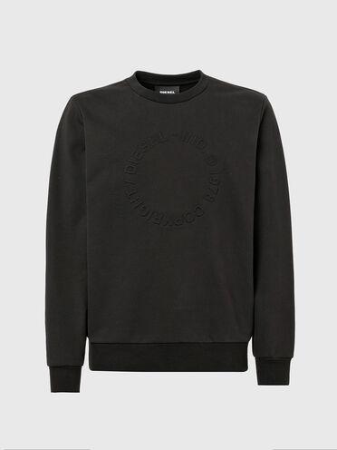 Sweatshirt with embossed Copyright logo