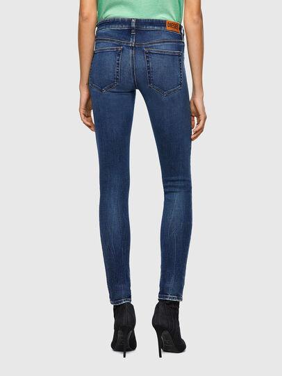 Diesel - Slandy Low Skinny Jeans 009ZX, Dark Blue - Jeans - Image 2