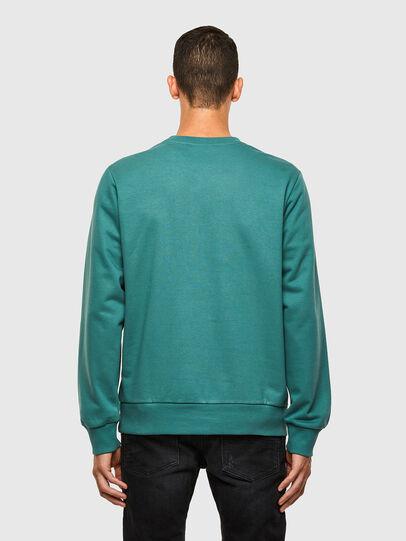 Diesel - S-GIRK-K15, Water Green - Sweatshirts - Image 2