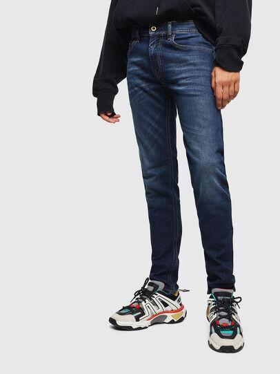 Diesel - Thommer 0096B, Dark Blue - Jeans - Image 1