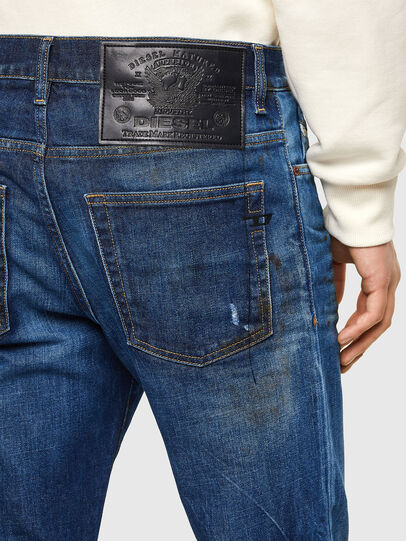 Diesel - D-Fining Tapered Jeans 009NG, Dark Blue - Jeans - Image 3
