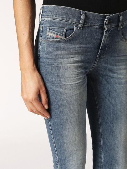 Diesel - Sandy 0688V, Light Blue - Jeans - Image 4