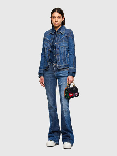 Diesel - DE-RINGY, Dark Blue - Denim Shirts - Image 5