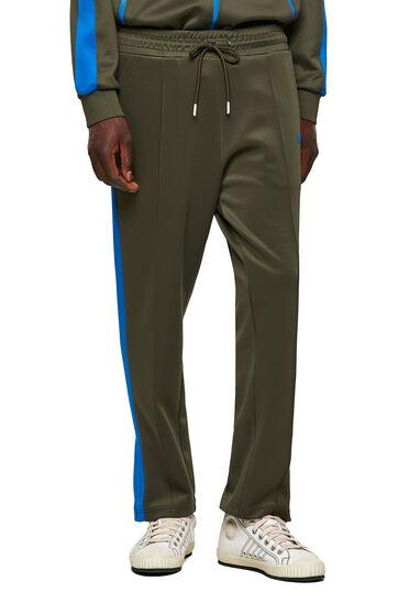 Green Label sweatpants in light scuba