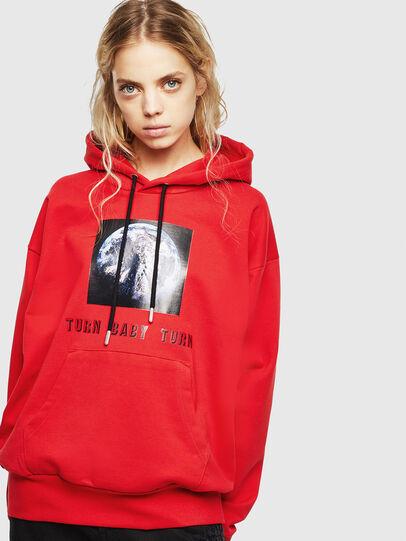 Diesel - S-ALBY-YA, Red - Sweatshirts - Image 2