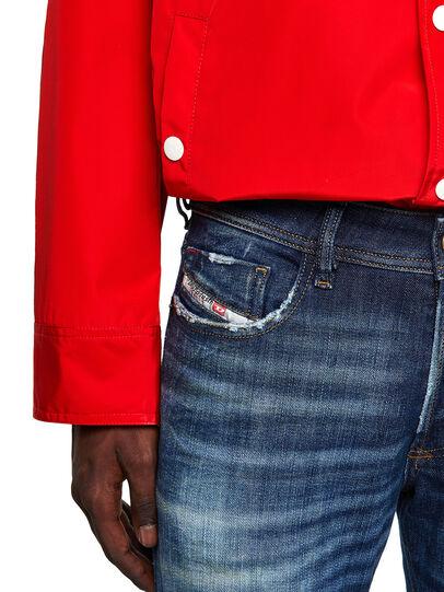 Diesel - Sleenker Skinny Jeans 09A27, Dark Blue - Jeans - Image 4