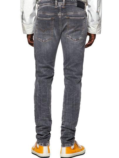 Diesel - Sleenker Skinny Jeans 009FW, Light Grey - Jeans - Image 2