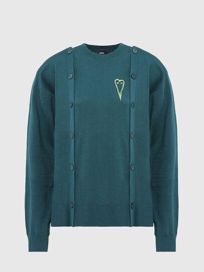 Diesel - M-MIRANDA, Water Green - Sweaters - Image 1