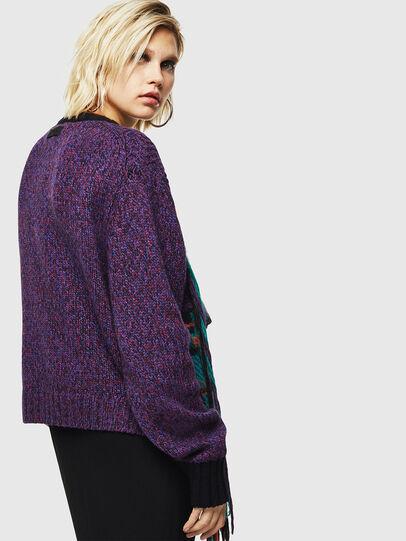 Diesel - M-TARTANN, Violet - Sweaters - Image 2