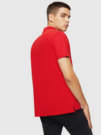 Diesel - T-KAL-PATCH, Red - Polos - Image 2