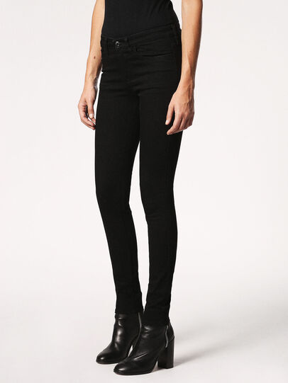 Diesel - Skinzee 0813E, Black/Dark Grey - Jeans - Image 6